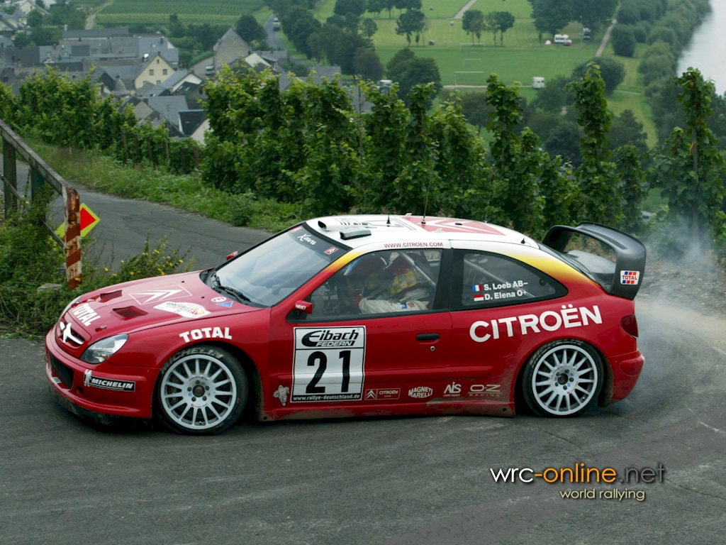 Rally Favorite Citroen Xsara Wrc Startinggrid