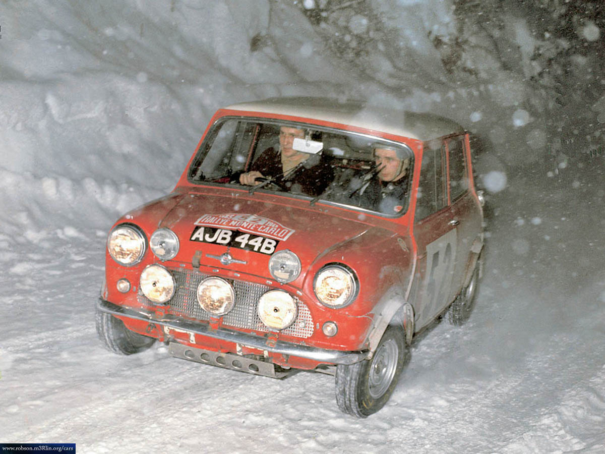 Mini Cooper Rally Car The Classic Is Always Better Startinggrid