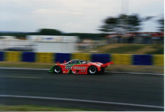 Mazda767B at LeMans - photo by Alan Dahl