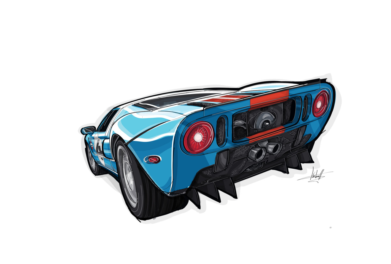 Fine Art Friday John Kimballs Ford Gt