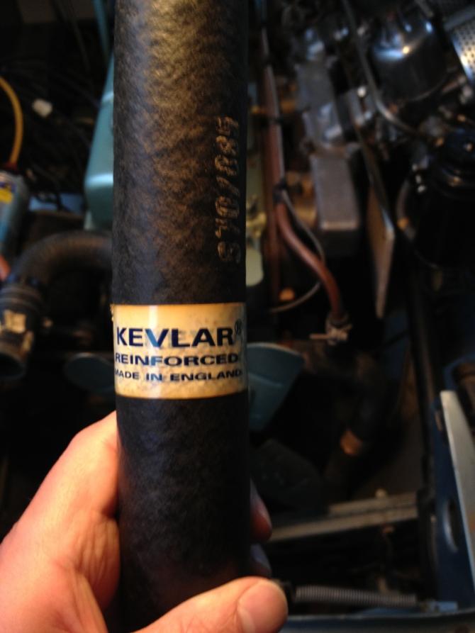 English Kevlar, sounds like a punk band.