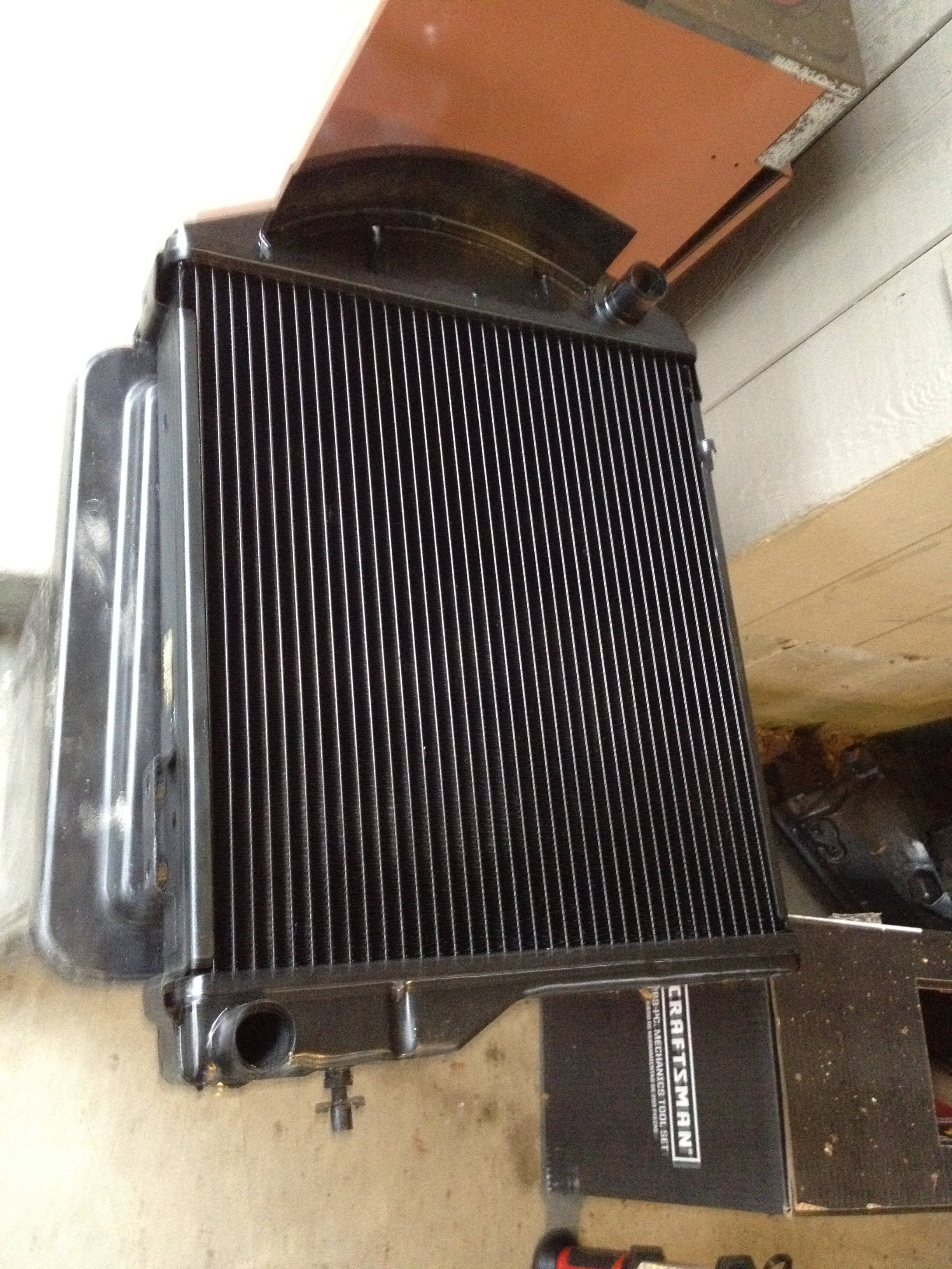 The Healey: Radiator Recore Reduces Running Radiance