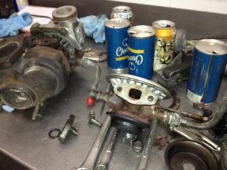 Exploded turbo