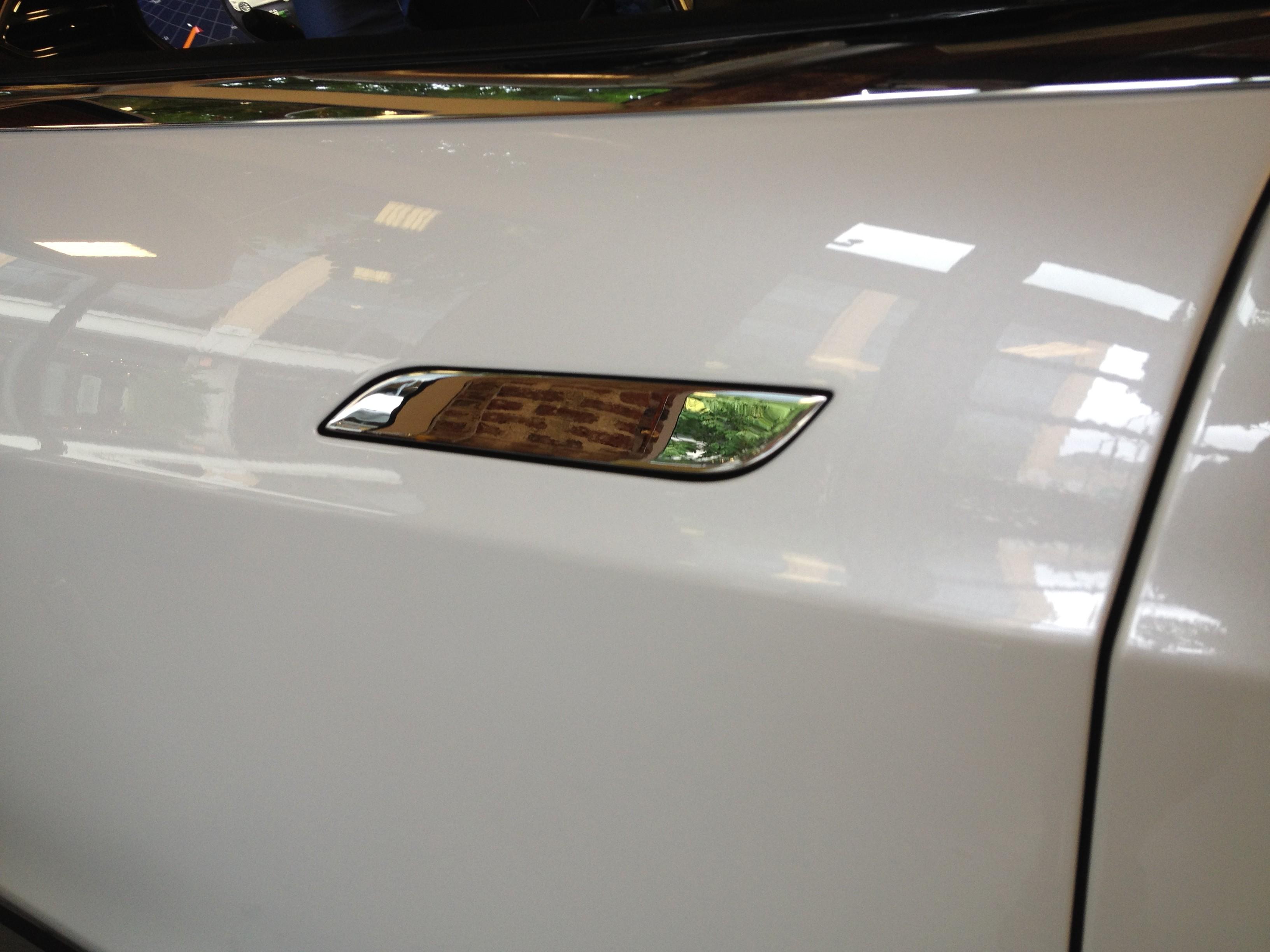 Model S door handle flush to body | |StartingGrid|