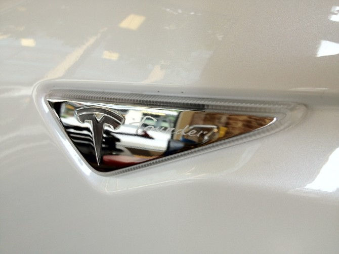 Model S Founder Badge