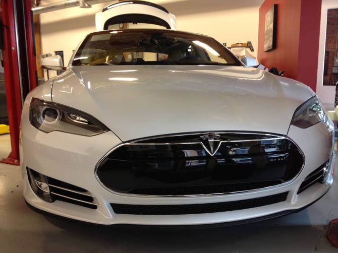 Model S Nose
