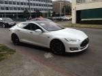 Model S pulls away