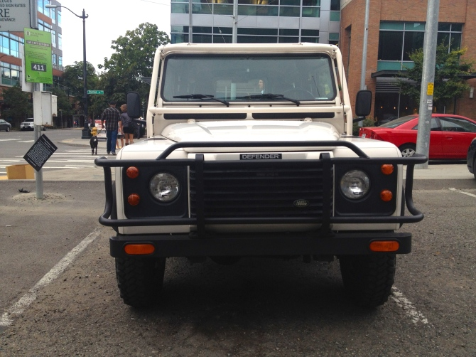 Defender 110 Roo Bar