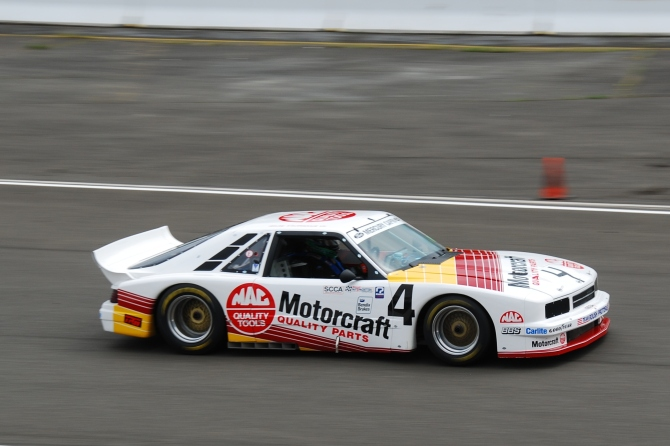 1985 Trans Am champ Mercury Capri