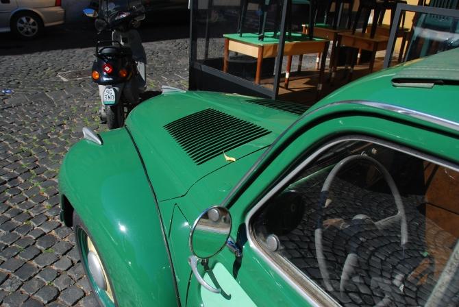 Topolino Belevedere hood and interior