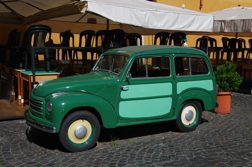 Topolino Belevedere front quarter