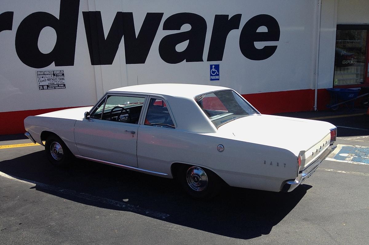 Dodge Dart profile