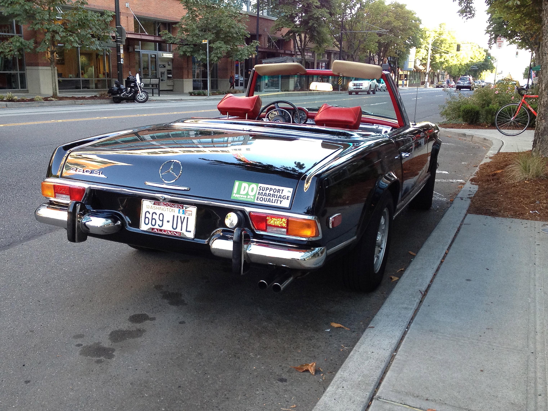 Street Parked: 1970 280SL | |StartingGrid|