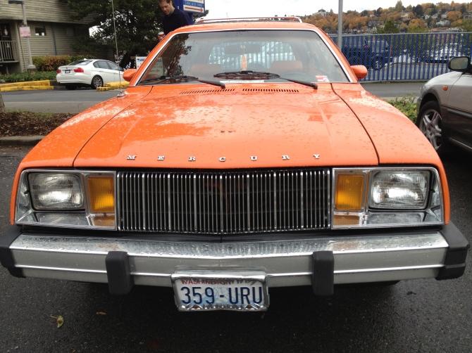 Mercury Bobcat front
