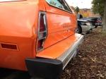 Mercury Bobcat rear bumper