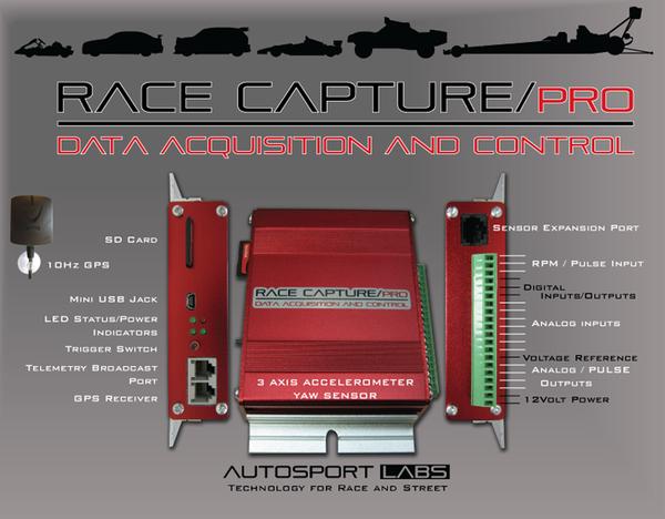 Race Capture info sheet
