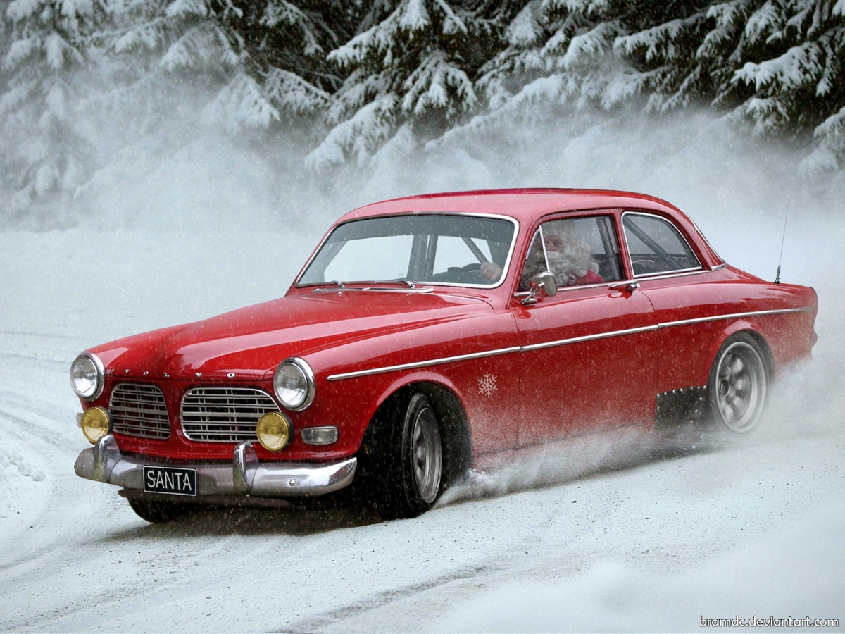 Volvo_Amazon_X-mas_by_Bram