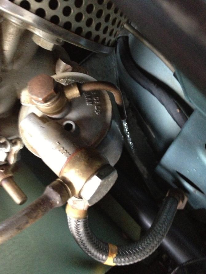 Overflowing Carburetor