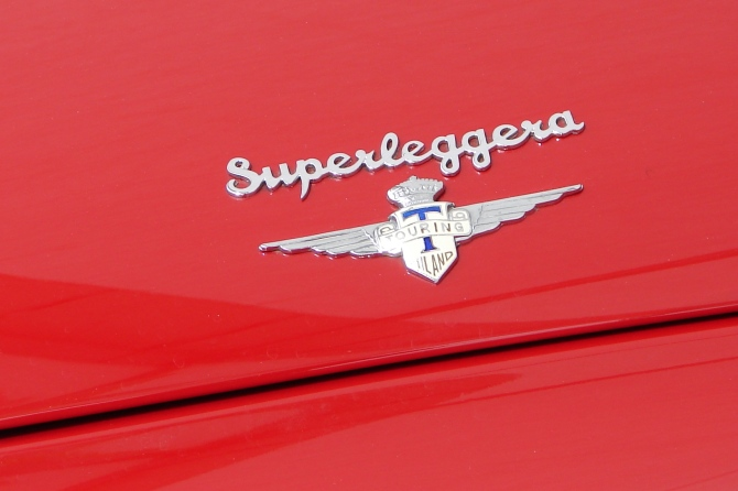 Ferrari 166 MM badge