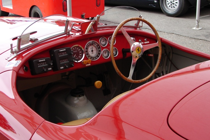 Ferarri 166 MM interior