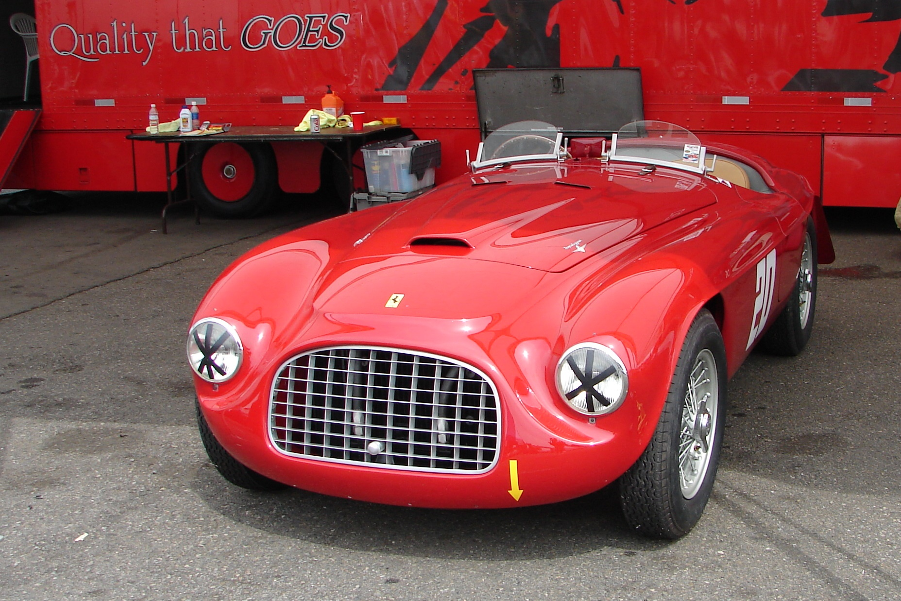 ferrari friday: 1949 166 mm touring barchetta | |startinggrid|