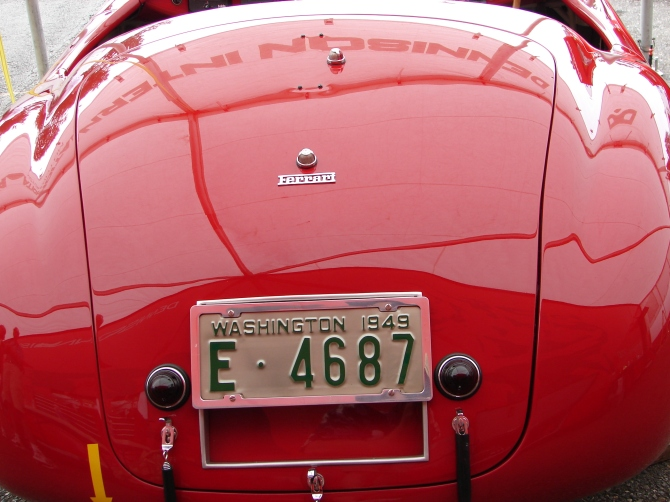 Ferrari166 MM Rear