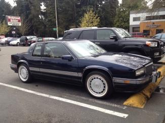 Eldorado Touring Coupe front  quarter