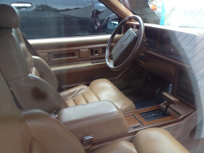 Eldorado Touring Coupe interior