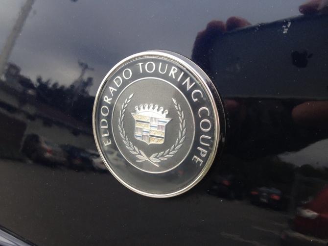 Eldorado Touring Coupe badge