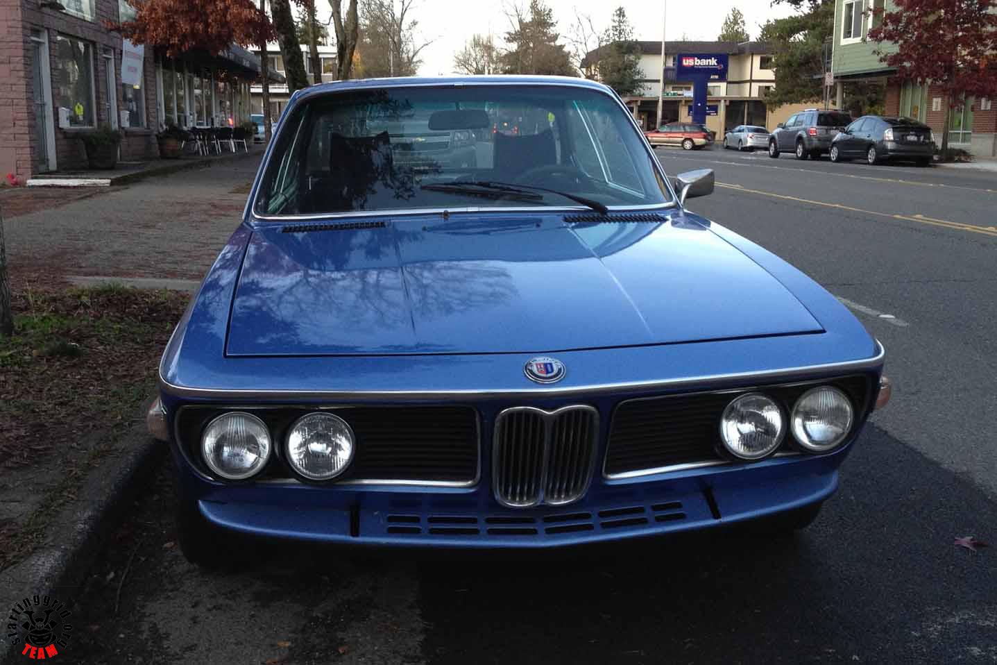 Street Parked: BMW 3.0 CSi | |StartingGrid|