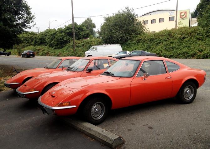 Opel GT profile