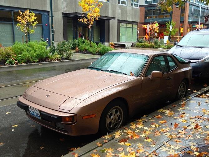 Porsche 944 front quarter