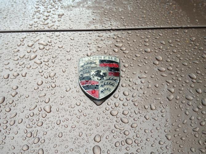 Porsche 944 hood badge