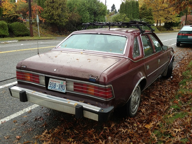 AMC Concord rear quarter