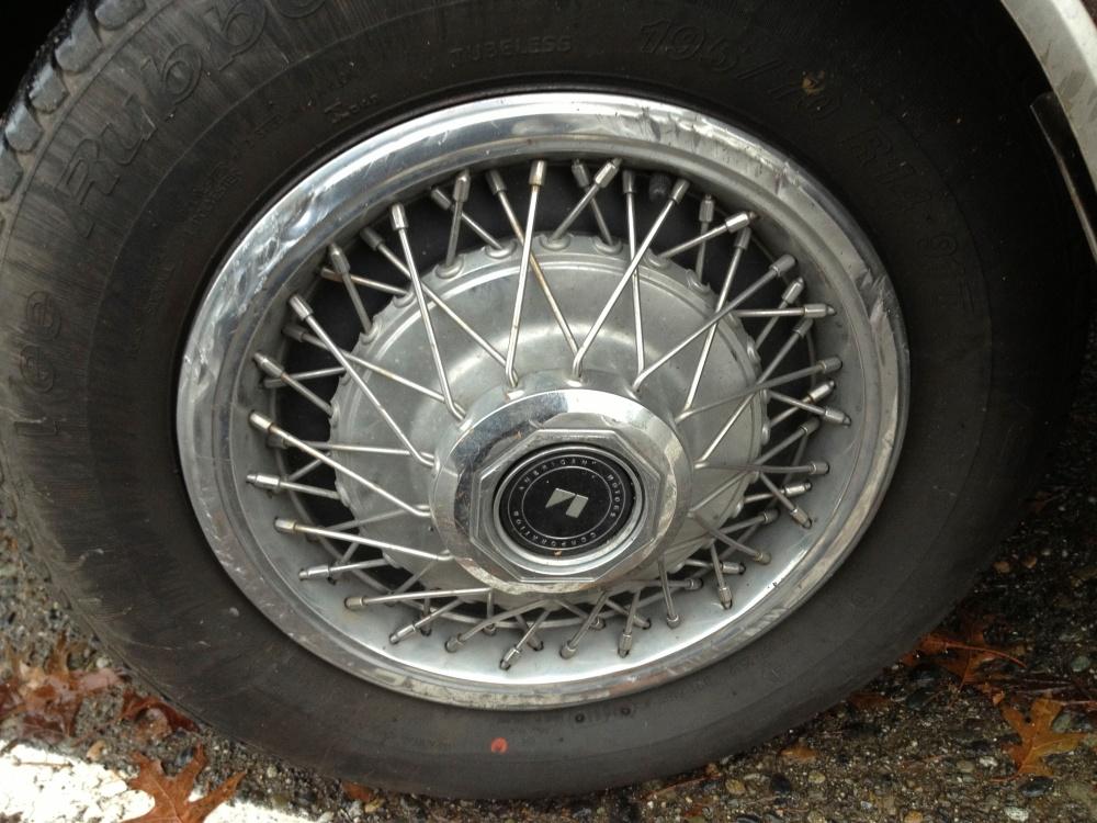 AMC Concord wheel cover