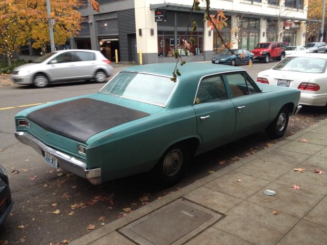 Chevelle rear quarter
