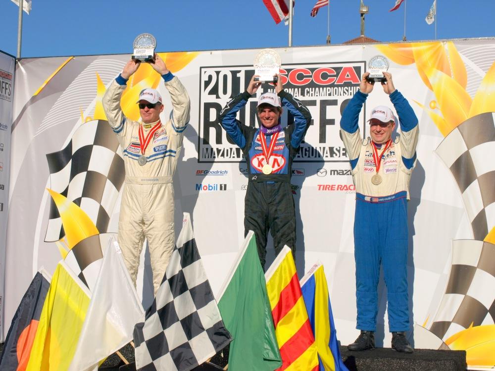 (L to R) Travis Washay, Kyle Keenan, and David Daughtery